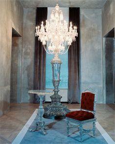 Baccarat candelabre