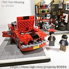 The 1965 Ford Mustang - support it at: https://ideas.lego.… | Flickr