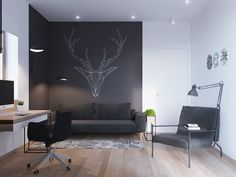 Image added in Scandinavian apartment n°1 Collection in Interior Design Category