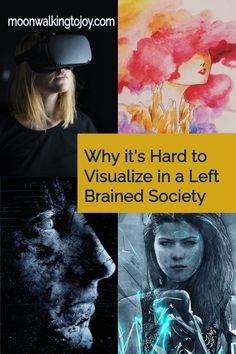 """If you've ever tried visualization techniques to manifest what you desire, you may have come away asking yourself, """"Why is it hard to visualize?"""" or """"What's wrong with me?"""" Nothing's wrong with you. You're just a little rusty. #visualizationtechniques #language #subjectivity #manifesting"""