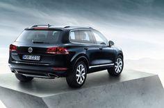 Volkswagen Touareg vue de derrière