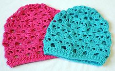 Slouch-Style Crocheted Skull Hat - Made to Order - Any color - Custom Made
