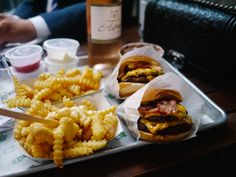 Shake Shack - Covent Garden, London, UK. I didn't know there's one in England! A definite must try.