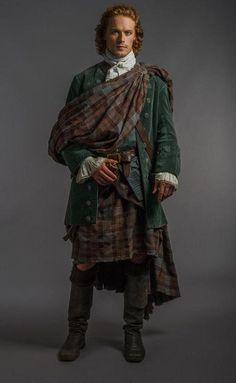 Jamie's wedding attire  #Outlander