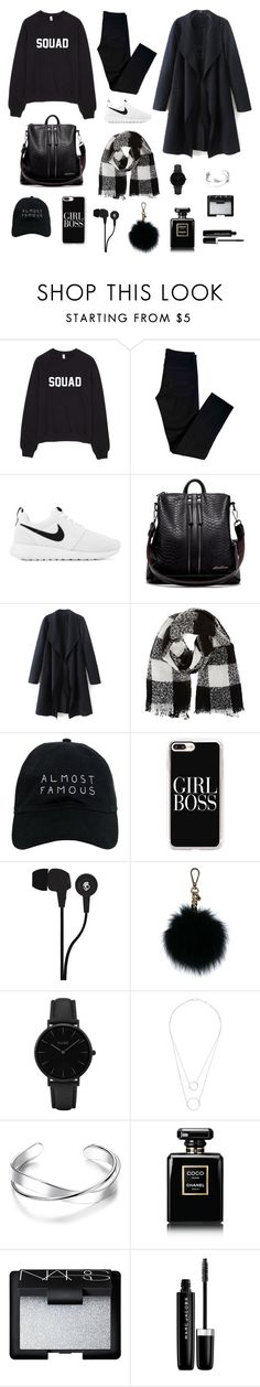"""NS Fashion"" by stagedesign on Polyvore featuring J Brand, NIKE, Barneys New York, Nasaseasons, Casetify, Skullcandy, MICHAEL Michael Kors, CLUSE, Witchery and Chanel"