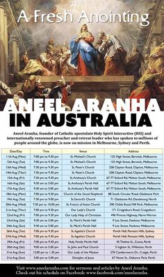 A Fresh Anointing - Australia Mission - Aug 2014