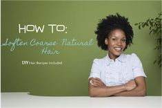 How to Soften Natural & Coarse Hair – NATURALOLOGY