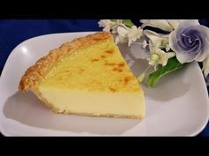 A delicious old fashioned egg custard pie that has a smooth and creamy texture. GETTING READY 1 Preheat oven to 400 degrees. MAKING 2 In a deep sauce pan or. Easy Egg Custard Pie Recipe, Custard Recipes, Quiche Recipes, Pie Recipes, Dessert Recipes, Cooking Recipes, Desserts, Custard Pies, Coconut Custard