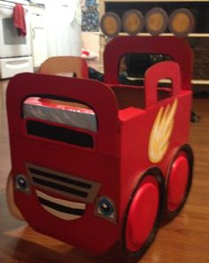 Cardboard Monster Truck