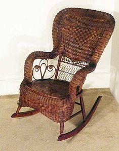 Antique Wicker Chairs from Grandma Dalcourt