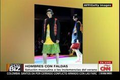 """La Solución De Los Caballeros Para El Calor, """"HOMBRES CON FALDAS"""""""