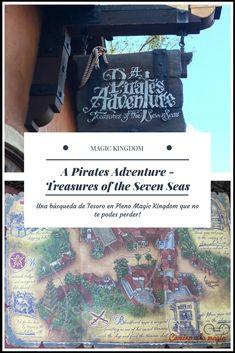 Búsqueda de Tesoro Pirata en MAGIC KINGDOM - No te la podes perder. Todos los datos de como hacerla en este post. Camino a la Magia
