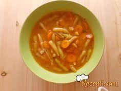 Recept za Kuvanu boraniju. Za spremanje ovog jela neophodno je pripremiti boraniju, šergarepu, luk, začin.