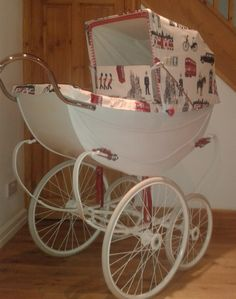 Vintage Osnath London Pram - Fylde Coachbuilt Prams