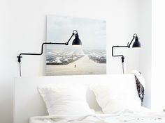 Fancy Swivel adjustable wall lamp with swing arm N Lampe GRAS Collection by DCW ditions