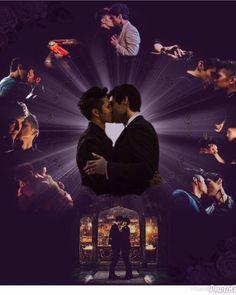 Bane, Malec Kiss, Constantin Film, Magnus And Alec, Cassandra Clare Books, Shadowhunters Malec, Matthew Daddario, Alec Lightwood, The Dark Artifices