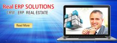RealERP provides a complete solutions to real estate business organizations through it's robust tools as 'Real Estate ERP Solution' that manage all business processes.  Real Estate ERP System India  http://realerp.in/real-estate-erp-solutions-system-india.html