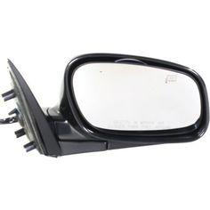 1998-2002 Lincoln Town Car Mirror RH,w/o Electrochromic,w/Memory,Manual Folding