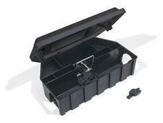 """Contrax-Box """"808"""" SF, Köderstation aus Kunststoff mit integrierter Rattenschlagfalle"""