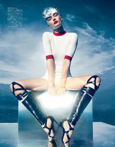 the extreme sports - vogue japan