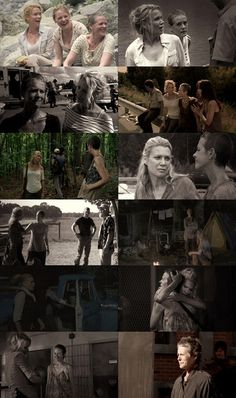 Andrea and Carol, The Walking Dead. Don't worry Carol, we are always there for u.