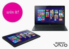Win It! A Sony VAIO Flip PS