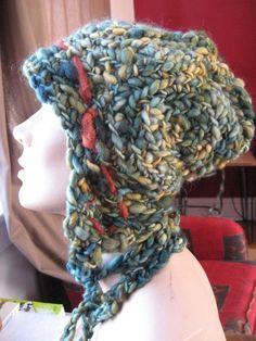 Freeform crochet hat Heather Lightbody
