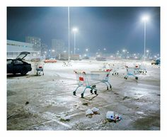 Alexander Gronsky, Endless Night, Polar Night in Murmansk, Russia, 2007 © Alexander Gronsky.