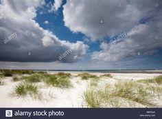 Beach on South Uist Stock Photo