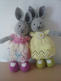 Ravelry: Brickparachute's Hattie and Laila