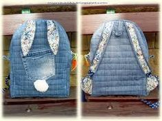 Джинсовый рюкзак для девочки своими руками выкройки