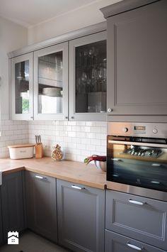 Wyraźna szarość w kuchni - zdjęcie od Dizajnia art - studio projektowe - Kuchnia - Styl Skandynawski - Dizajnia art - studio projektowe