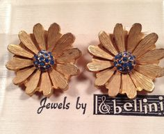 DEADSTOCK 1950s Vintage Brushed Gold Plated by thepopularjewelry, $19.95