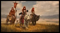 Featured Artist: Sebastian Kowoll. Awesome #conceptart with big #cats alert!