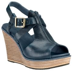 Women's Earthkeepers® Danforth Ankle Strap Wedge Sandal - Timberland