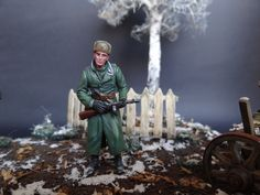 12 Diorama, Russia, Winter, Model, Art, Winter Time, Kunst