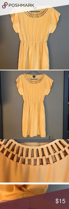 Mossimo supply co. mustard yellow dress Mossimo supply co.  mustard yellow dress - medium, has pockets on side Mossimo Supply Co. Dresses