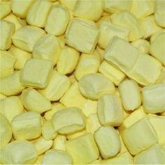 yellow candy idea (butter mints)