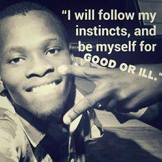 I can be myself