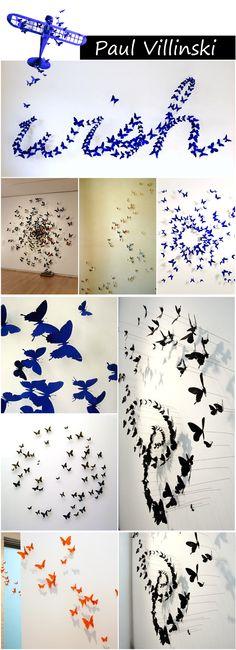 A arte de Paul Villinski