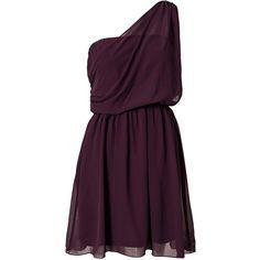 Dry Lake Pamela Dress (985 MXN) ❤ liked on Polyvore featuring dresses, vestidos, short dresses, robes, party dresses, purple, womens-fashion, short purple dresses, mini dress and embellished mini dress