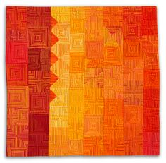 A portfolio of textile art from Diane Melms Compex Cloth series.