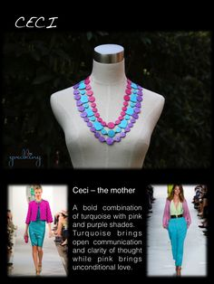 Chic eco friendly necklaces made out of non-toxic cornstarch safe for babies to grab and chew on. For stylish mothers who care!