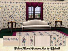 djehmli's Djem_Fairy Floral Pattern Set
