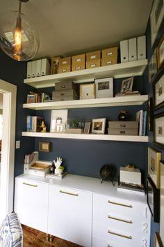 design dump: one room challenge REVEAL: mini office