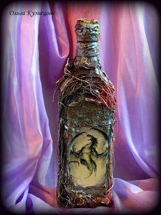 Decoupage. Декупаж, декор бутылок. 2013