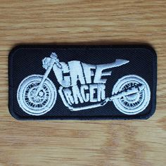 Motorcycle Biker Rocker Greaser Cloth Patch Leathers Vest Cut Off CAFE RACER