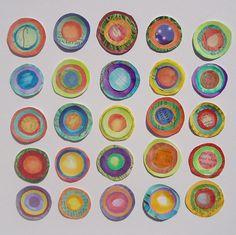 Etsy Transaction - 25 Paper Dots, phizzychick