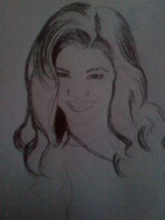First Zendaya drawing in 2010