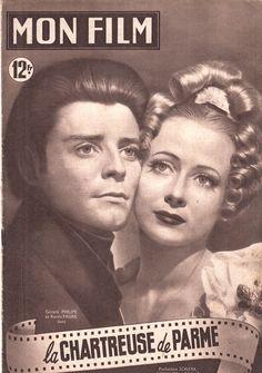 """Gérard Philipe & Renée Faure - """"La Chartreuse de Parme"""" - Christian-Jaque  (1947) - Mon Film Magasine"""